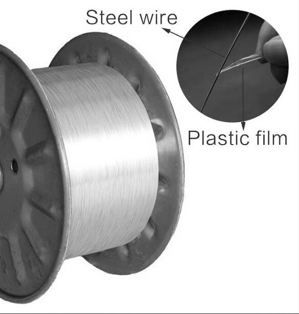 EAA coated steel wire