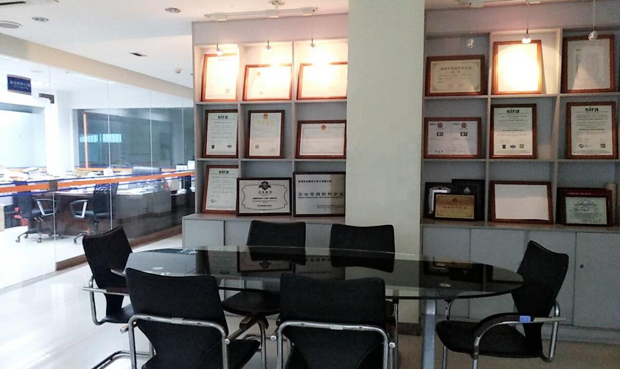 SINO OPTIC Certificates